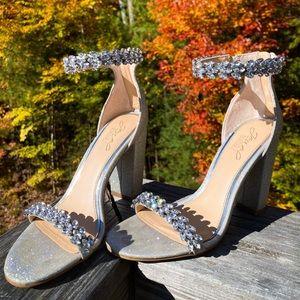 Jewel Badgley Mischka Heels